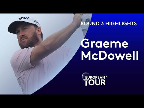 Graeme McDowell shoots third round 66 in Saudi Arabia | 2020 Saudi International