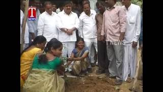 MinisterMahende reddy Lays Foundation For Development Works In kotepally    Tandur    T news