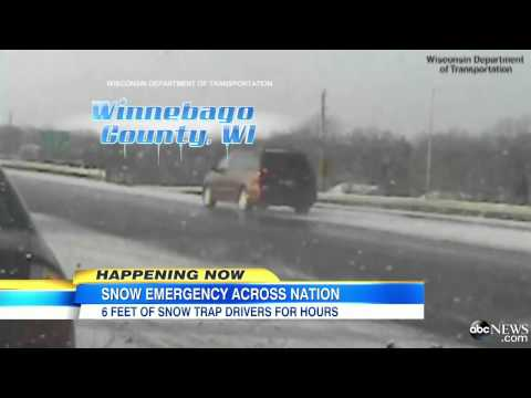 Snow Across the US Causing Emergency Situations, Accidents