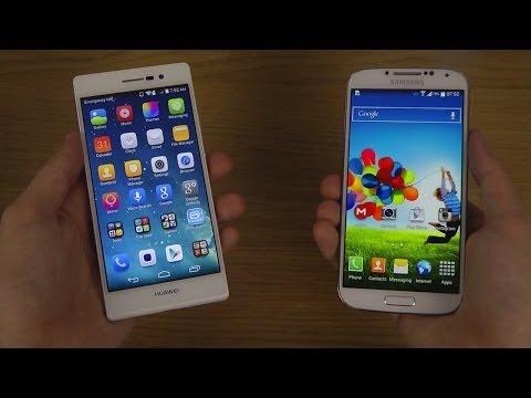 Huawei Ascend P7 vs. Samsung Galaxy S4