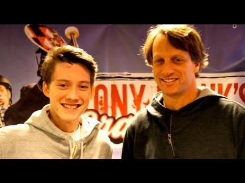 Kvllen r Din - Elias trffar Tony Hawk