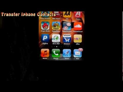 Transfer your Iphone contacts to PC or Android Phone Easy