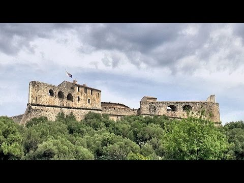 Fort-Carré - Antibes Juan-les-Pins, Côte d'Azur, France [HD] (videoturysta)