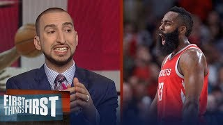 Nick Wright on Houston defeating Portland: The Rockets are title favorites | FIRST THINGS FIRST