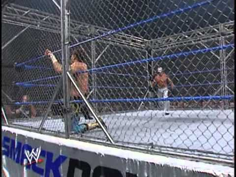 2005.09.09 Wwe Smackdown! Steel Cage Match Rey Mysterio Vs  Eddie Guerrero video