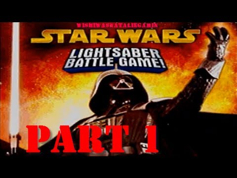 Star Wars Lightsaber Battle Game LP ep 1