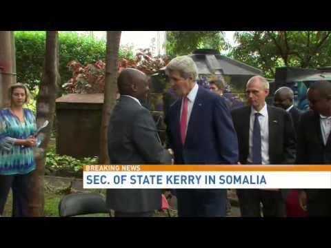 Secretary of State John Kerry visits Somalia