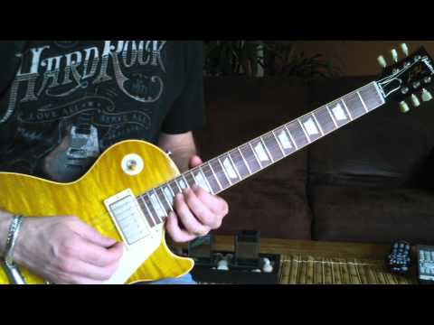 ACE FREHLEY - AceFrehleyLesPaul.com - Talk To Me Guitar Solo - Ep. 15 / 15May12