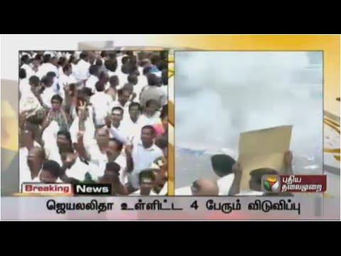 Celebrations galore at Jayalalithaa's acquittal