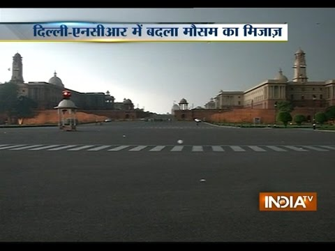 Slight rain drench parts of Delhi-NCR | India Tv