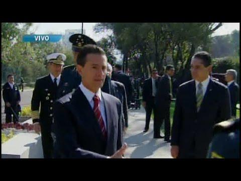 Peña Nieto discurso Día del Ejército Mexicano 2015