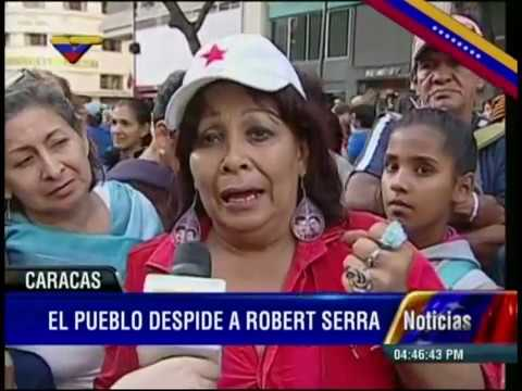 Restos de Robert Serra y María Herrera llegan a la Asamblea Nacional y son velados