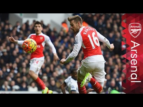 Aaron Ramsey - Top-5 Premier League goals