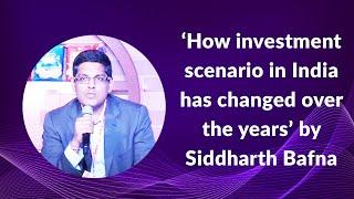 How investment scenario in India has