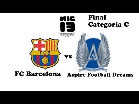 MIC 2013 Final : Barça vs Aspire Football Dreams | Categoria C | Full Match | SergioLiveHD