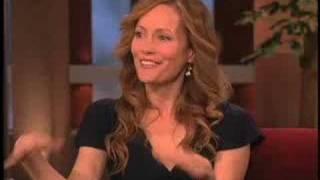 Leslie Mann on Zac's onscreen kiss