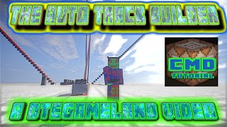 Minecraft Rail Builder CMD Tutorial EP 2