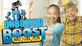 LEGO BOOST Robot Unboxing - The Build Zone