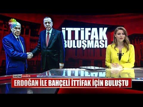 Erdoğan ile Bahçeli ittifak için buluştu