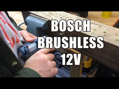 Bosch EC Brushless 12V Drill and Driver