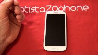 Video Unboxing e primo avvio Samsung Galaxy S3 da batista70phone