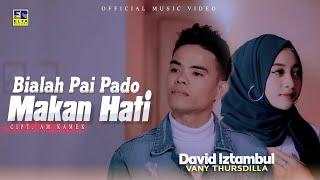 Download lagu Lagu Minang Terbaru 2021 - David Iztambul Ft Vany Thursdila - Bialah Pai Pado Makan Hati