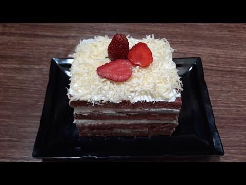 Red Velvet Cake Kukus Lembut | Cara Membuat Kue Red Velvet | Inspirasi Kue Ulang Tahun
