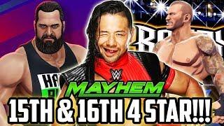 WWE MAYHEM 2 NEW 4 STAR SUPERSTARS! AMAZING LOOT & NEW CHEAT OPTION!!!