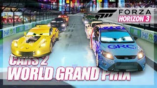 Forza Horizon 3 - Cars 2 Recreation! (World Grand Prix)
