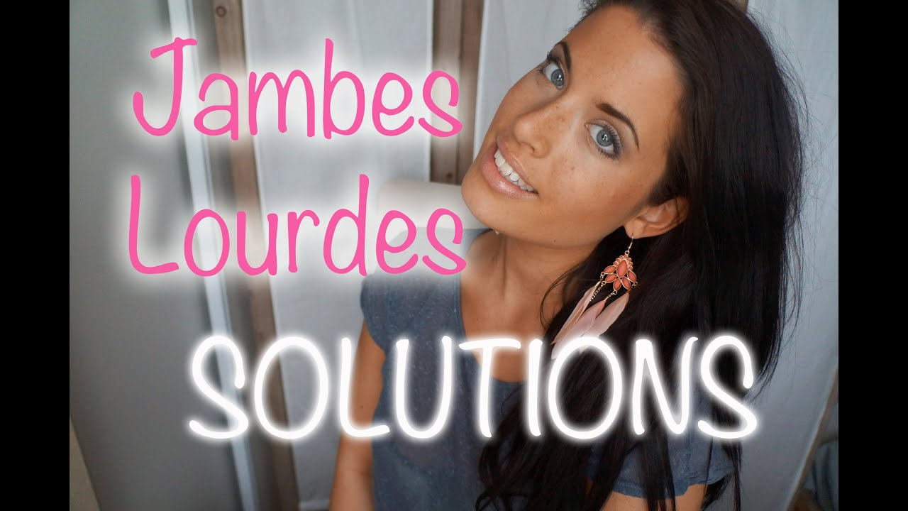 jambes lourdes mauvaise circulation comment les soulager youtube. Black Bedroom Furniture Sets. Home Design Ideas