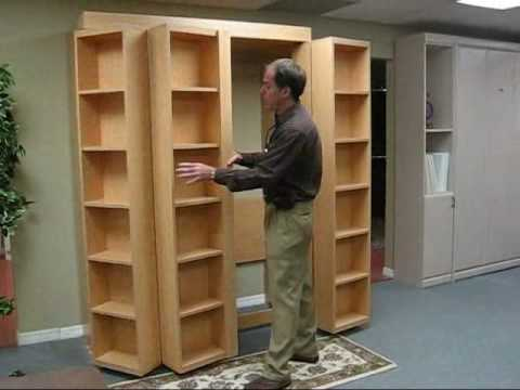 Bookcase Bed Video No Music Youtube