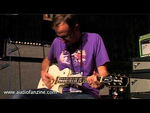 Hamer Mon Ow XT serie Video Demo [NAMM 2011]