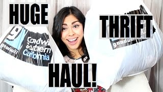 GREATEST THRIFT HAUL | Diana Moore