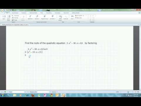 Algebra Help: Solving Complex Quadratics