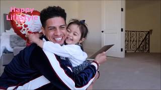 AUSTIN SURPRISES BABY ELLE AFTER VALENTINES DAY|THE ACE FAMILY(ADORABLE)