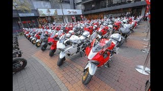 """Tin nhanh 24/7 - Tiểu """"Ducati Panigale"""" tụ tập gần 100 chiếc sắp về VN khiến biker đứng ngồi Ko yên."""