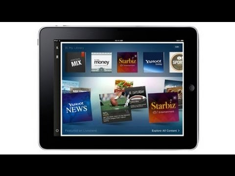 Yahoo Launches Livestand iPad App