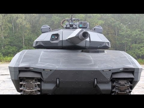 The invisible tank PL-01 unveiled
