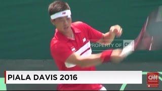 Piala Davis 2016: Indonesia Singkirkan Sri Langka 5-0