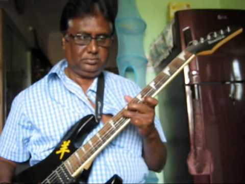 Hridayam ekkada (suttum vizhi)  film Gajini on Guitar by Vijayaraj