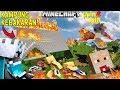 FROST DIAMOND NGEBAKAR KAMPUNG DURIAN RUNTUH, UPIN IPIN NGAMUK!! - Minecraft Lucu MP3