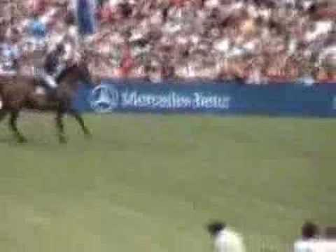 Derby Hamburg 2007 - The youngest horse in the finals