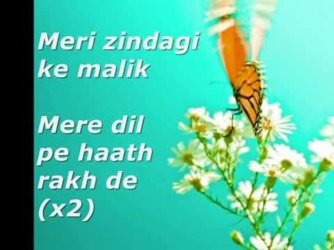 Meri Zindagi Ke Malik With Lyrics video