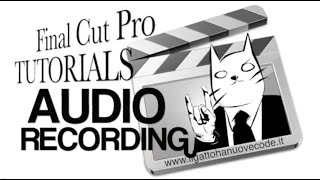 Final Cut Pro X - REGISTRARE L