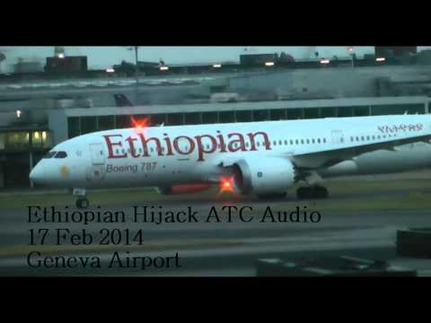 Ethiopian Airlines flight 702 Hijacked ATC part 2