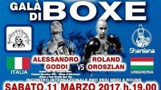 Boxe – Alessandro Goddi VS Roland Oroszlan