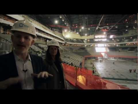 Early Construction Tour at Brooklyn Barclays Center - Curbed Inside