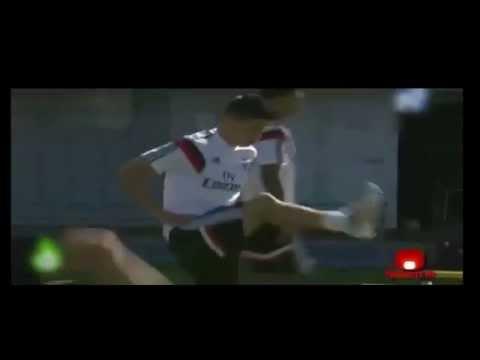 Entrenamiento de James Rodríguez - Real Madrid