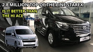 2019 Hyundai Grand Starex Platinum -Is it better than the Hiace Grandia and Alphard? -Philippines