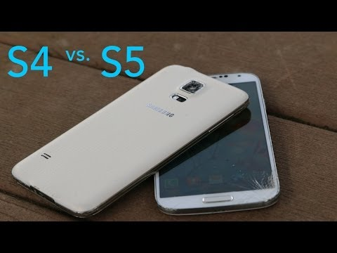 Samsung Galaxy S5 vs Samsung Galaxy S4 Drop Test!